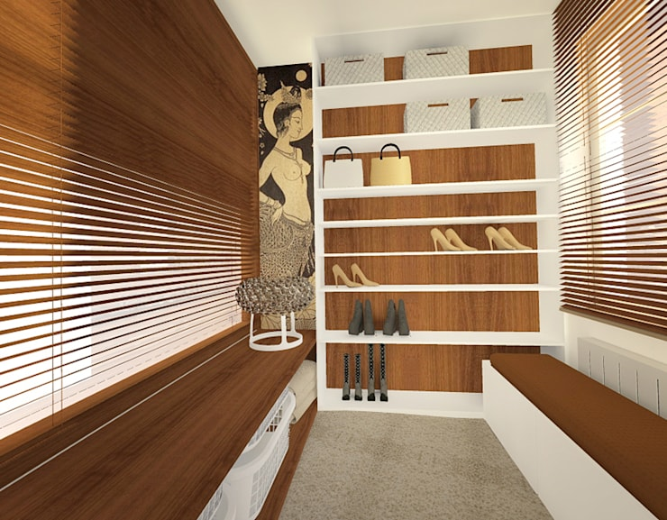Closets de estilo  por Manekineko