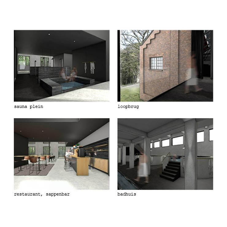 Spa en wellness:  Gezondheidscentra door STUDIO KALTOFEN, Modern