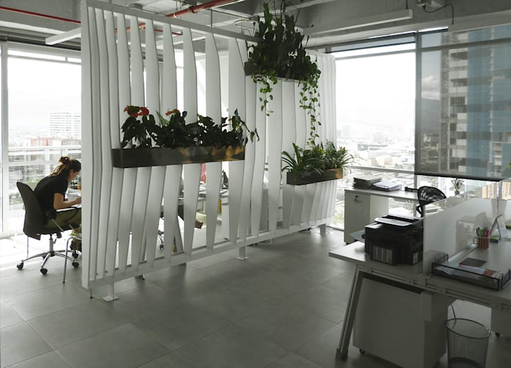Oficinas Easy Legal de interior137 arquitectos Moderno