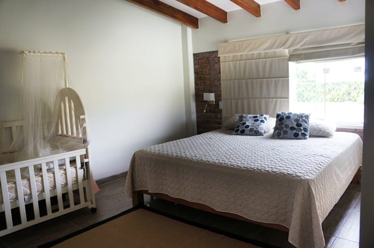 Habitaciones de estilo  por malu goni