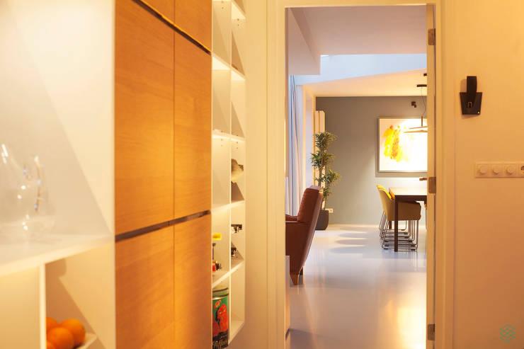 Restyling complete woning:  Keuken door VAN SCHIE ARCHITECTEN, Modern
