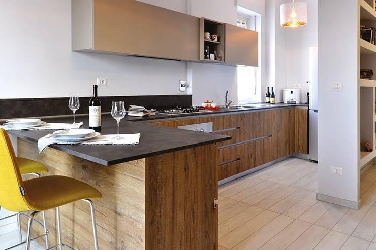 Ristrutturazione SG: Cucina in stile  di Elles Interior Design & Home Personal Shopper