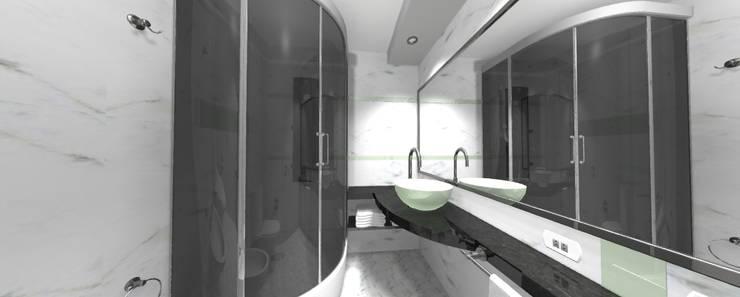 REMODELACION BAÑO: Baños de estilo  por ESTUDIO CRUZ,