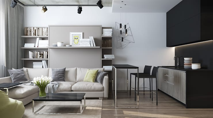 Wohnzimmer von Elena Potemkina