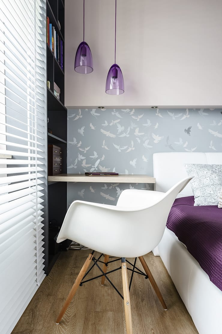 Modern Bedroom by Saje Architekci Joanna Morkowska-Saj Modern