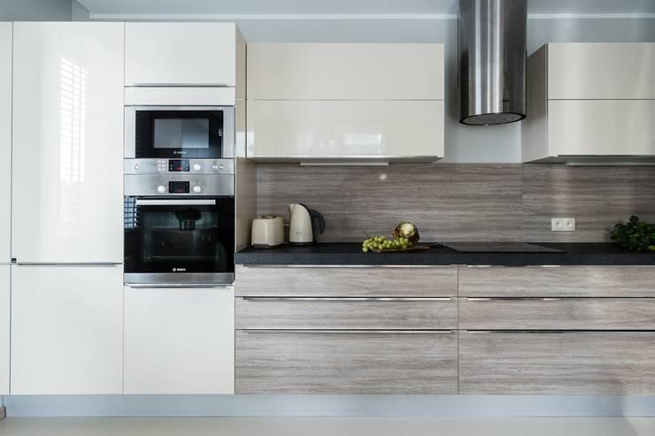 مطبخ تنفيذ Saje Architekci Joanna Morkowska-Saj