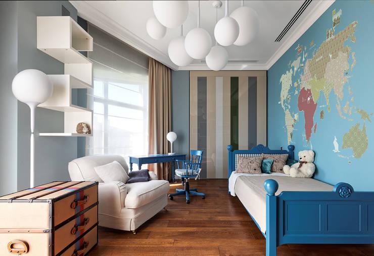 Дом в Миллениум Парке: Детские комнаты в . Автор – Elena Potemkina