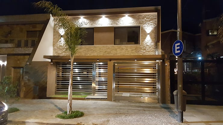 Casas de estilo  por Arquitecto Oscar Alvarez