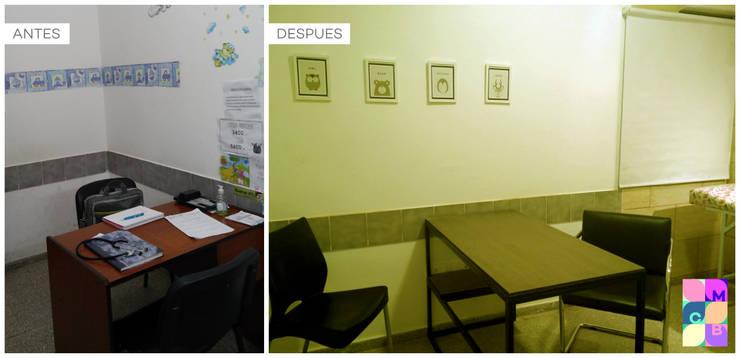 CONSULTORIO PEDIATRICO:  de estilo  por MCB Arquitectura - Diseño de interiores