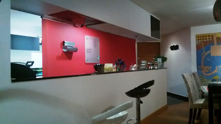 APARTAMENTO CHICÓ NAVARRA – BOGOTÁ: Cocinas de estilo  por bdl concept/studio