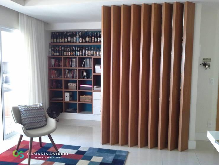 modern Study/office by Camarina Studio