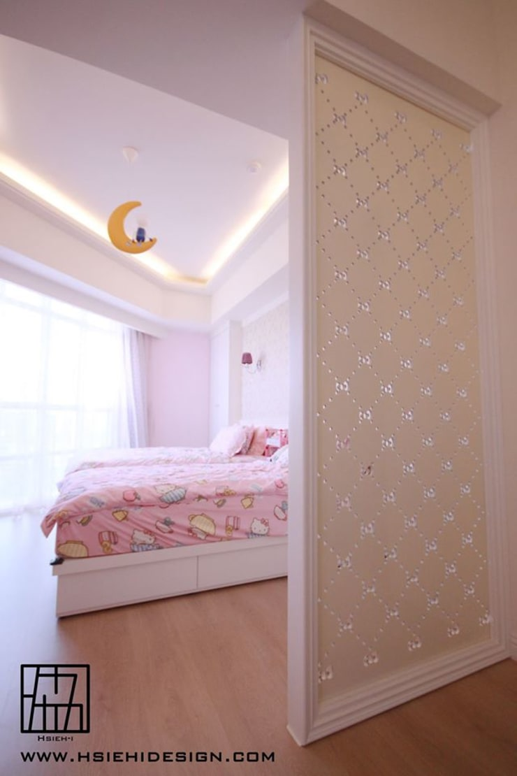 小孩房:  牆面 by 協億室內設計有限公司
