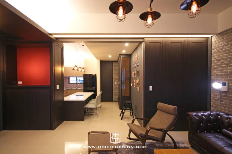 Woonkamer door 協億室內設計有限公司