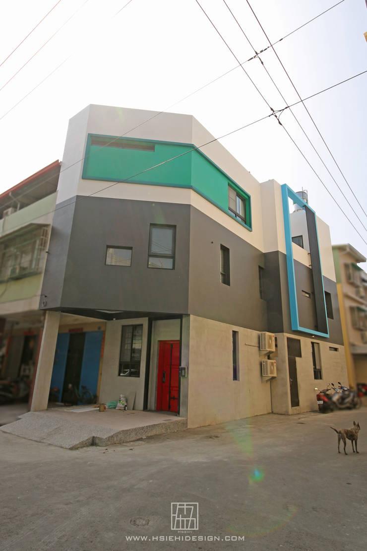 建築外觀:  房子 by 協億室內設計有限公司