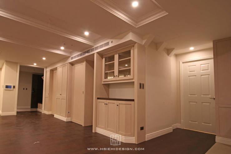 酒櫃:  酒窖 by 協億室內設計有限公司