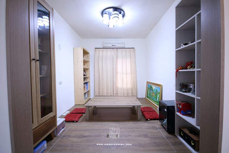 和室:  書房/辦公室 by 協億室內設計有限公司