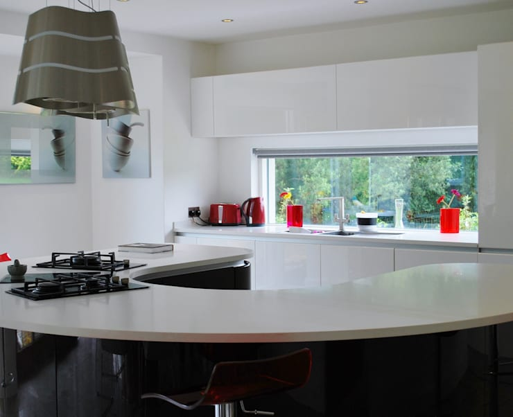 Self-built house, Newry:  Kitchen by Jim Morrison Architects