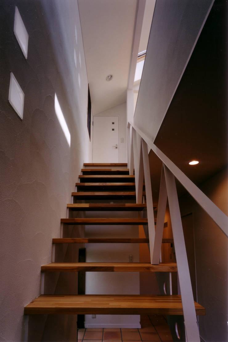 Corridor & hallway by 豊田空間デザイン室 一級建築士事務所