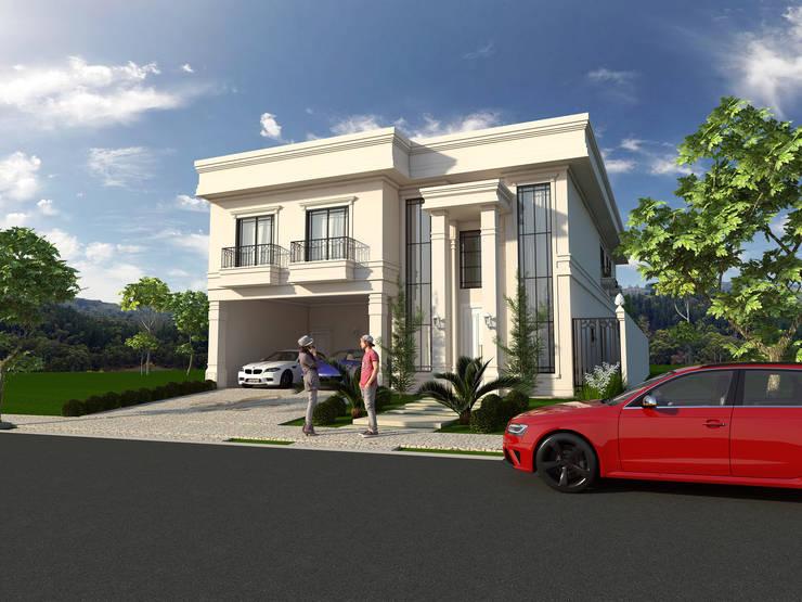 Casas de estilo  por Caio Pelisson - Arquitetura e Design