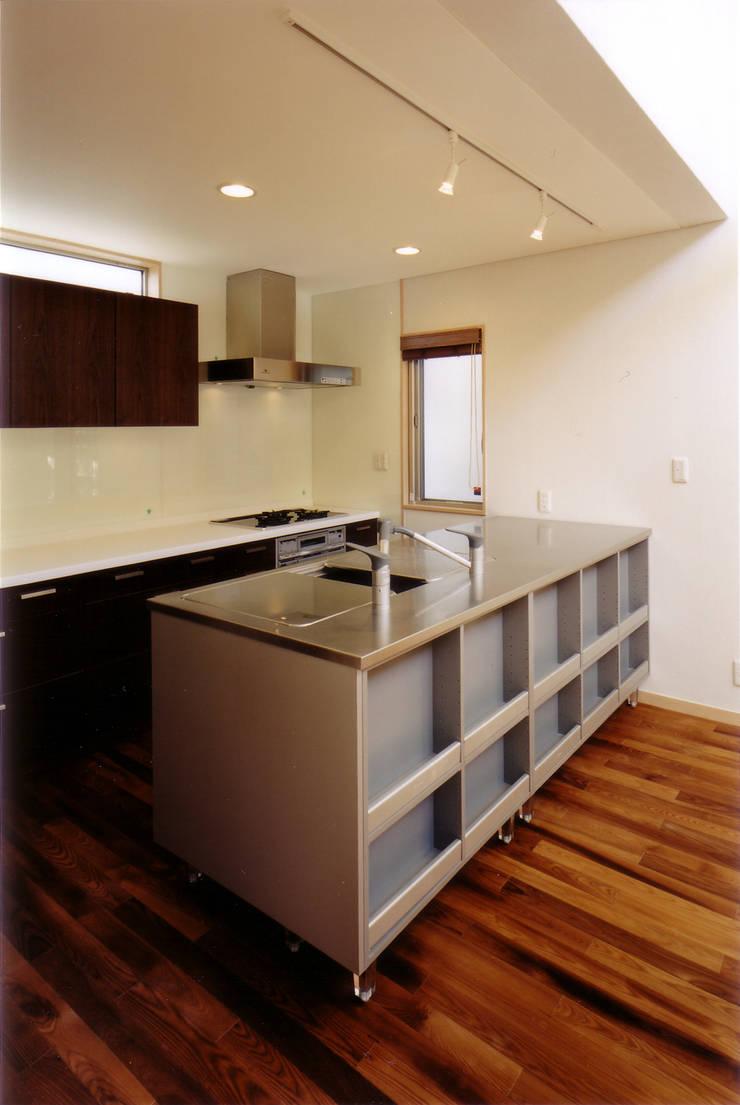 対面キッチン 北欧デザインの キッチン の 豊田空間デザイン室 一級建築士事務所 北欧