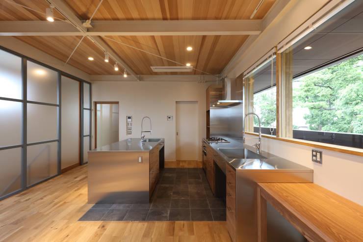 Kitchen by 高倉設計事務所
