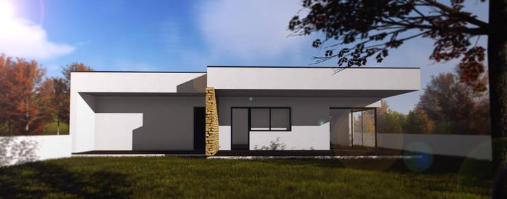 Casas de estilo  por P&H - Arquitectos
