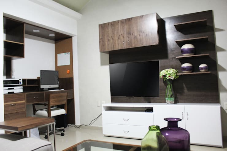 Remodelación estudio en San Marino :  de estilo  por Spazio3Design