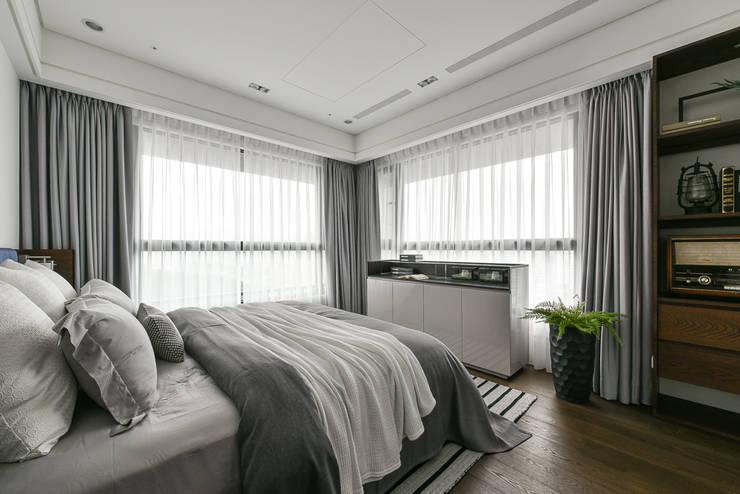 餘音繚繞:  臥室 by 沐朋設計
