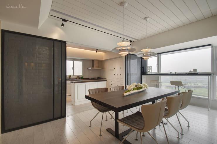 غرفة السفرة تنفيذ 拾雅客空間設計