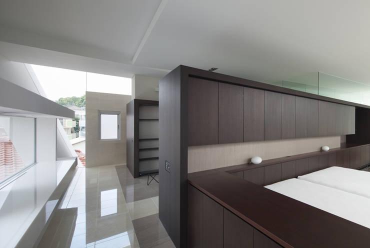 KS-house: 森裕建築設計事務所 / Mori Architect Officeが手掛けた寝室です。