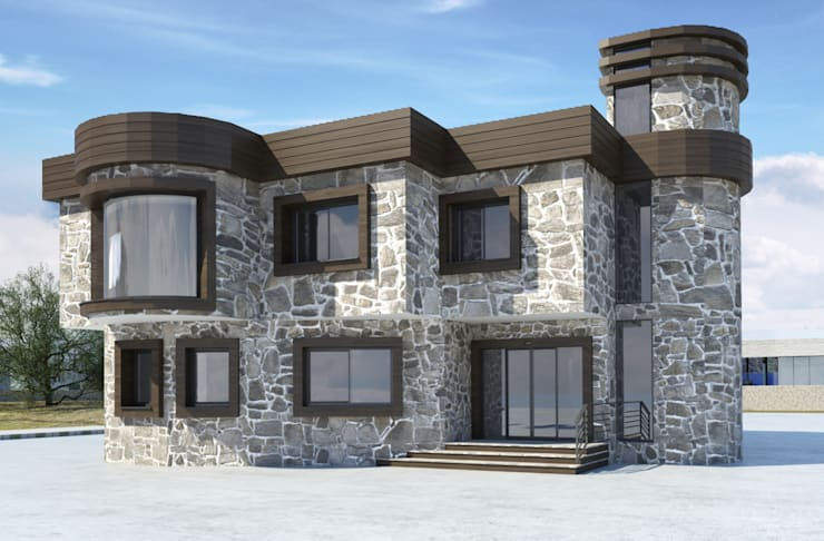 Modern houses by ROAS ARCHITECTURE 3D DESIGN AGENCY Modern