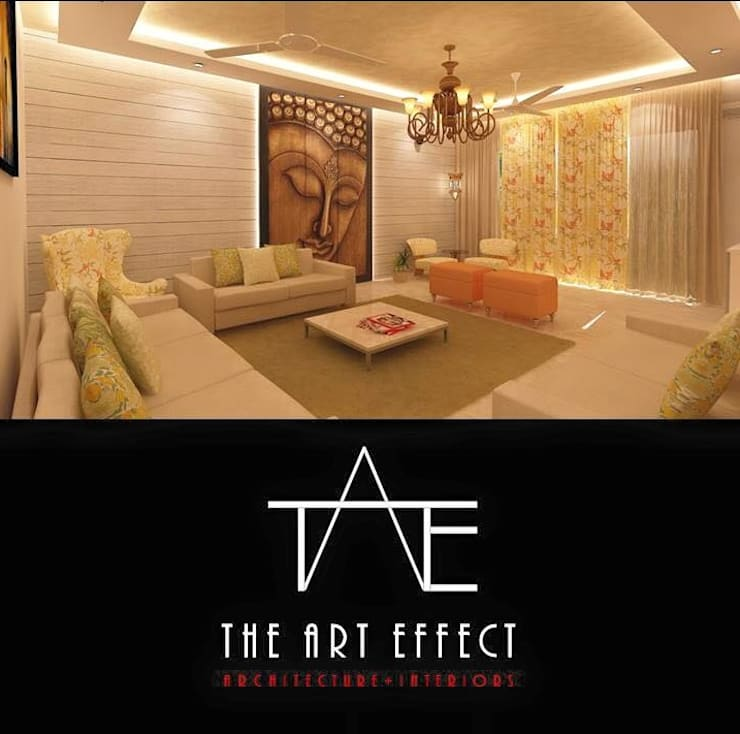 Home Interior Designer: modern Dressing room by The Art Effect