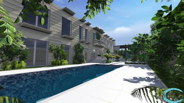 jardin terrasse style exotique paris france par palma concept homify. Black Bedroom Furniture Sets. Home Design Ideas