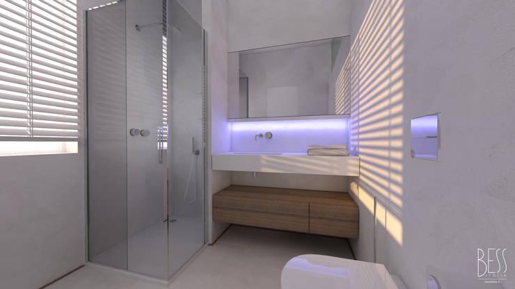 Ristrutturazione Appartamento: Bagno in stile  di Studio Bianchi Architettura