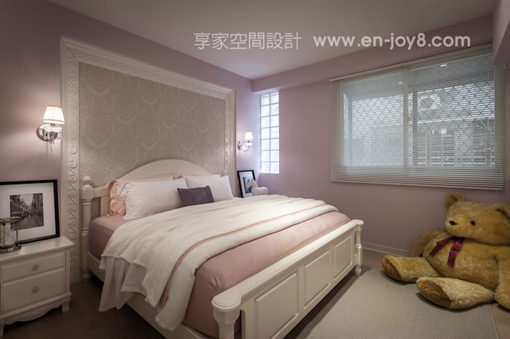 Bedroom by 享家空間設計,
