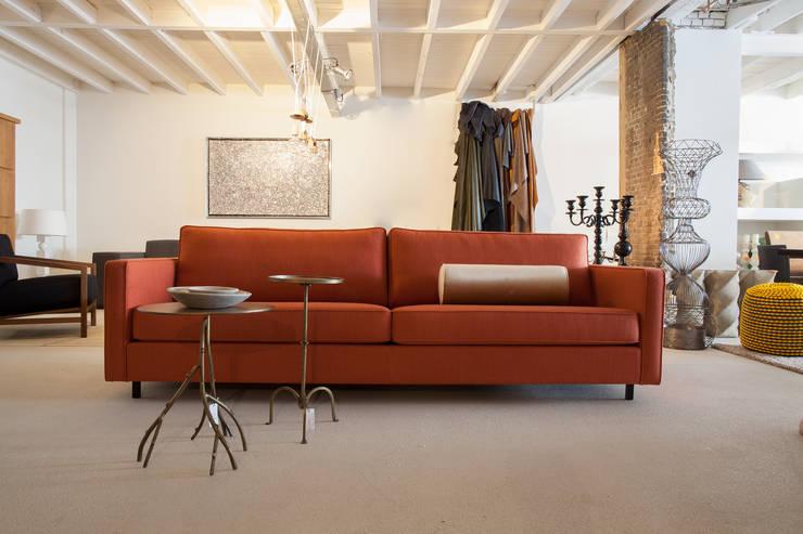 Bank Soof:  Woonkamer door Wood Creations
