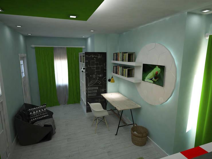 Akay İç Mimarlık & Tasarım – VİLLA İÇMİMARİ:  tarz Çocuk Odası
