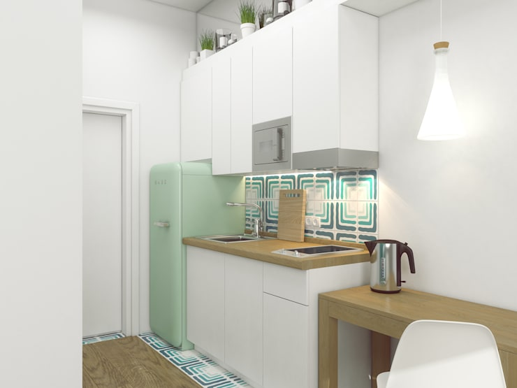 Kitchen by Ёрумдизайн, Scandinavian MDF