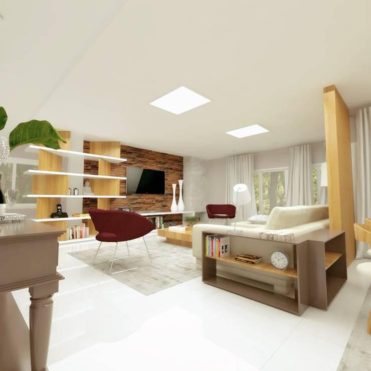 غرفة السفرة تنفيذ Cíntia Schirmer | arquiteta e urbanista