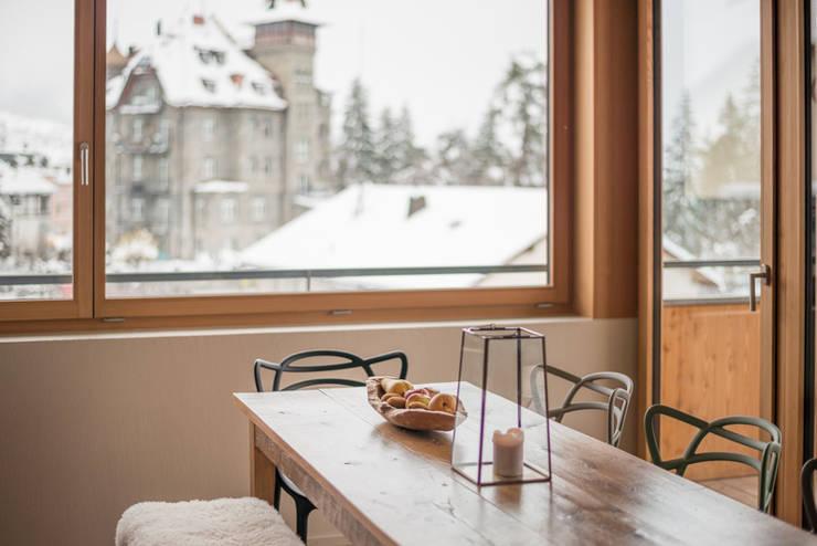 Alpine Interiors 2:  Dining room by FVDB Photography