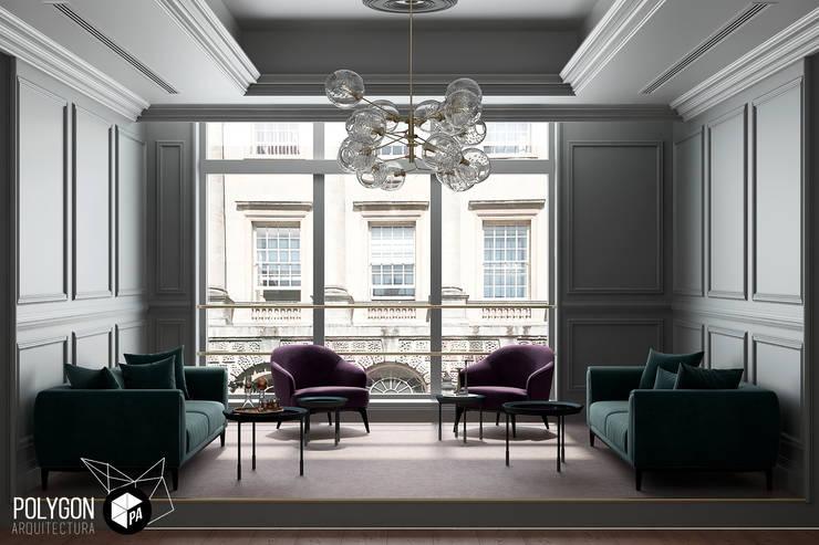 Trabajo de renderización: Salas de estilo  por Polygon Arquitectura