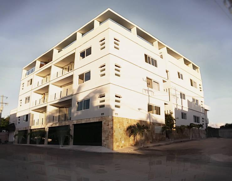 Casa Tunich: Casas de estilo  por Grupo Cerma , Moderno