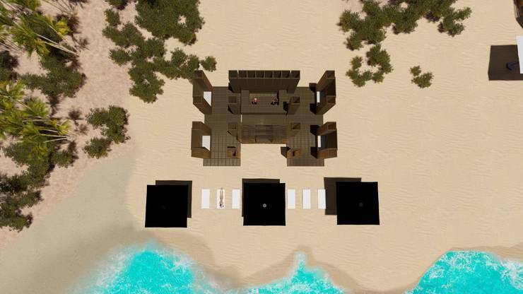 Oasis Lounge: Hoteles de estilo  por Grupo Cerma , Moderno