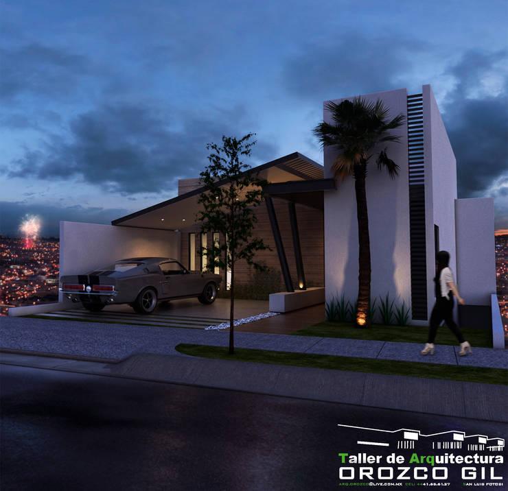 20 fachadas de casas modernas fabulosas for Fachadas modernas para oficinas