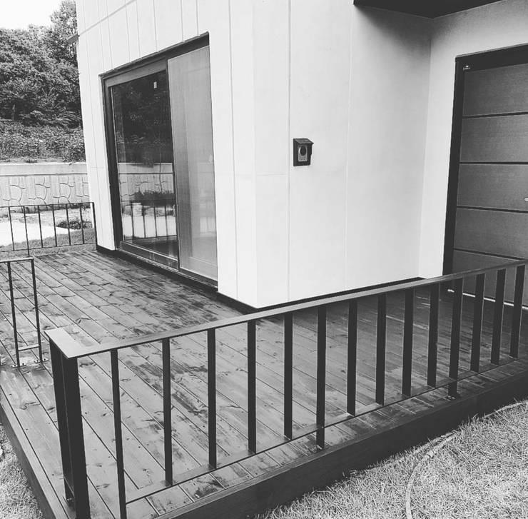 양평군 신화리 소형주택 2016~2017: tohaus/떼오하우스의