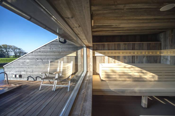 sauna:  Spa door Heeren 3 Architecten