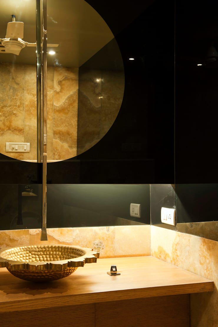 Verma Residence : modern Bathroom by Untitled Design