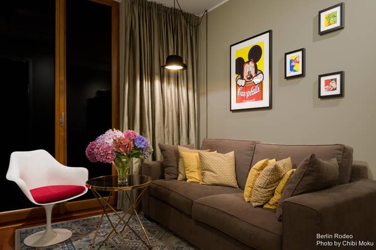غرفة المعيشة تنفيذ BERLINRODEO interior concepts GmbH
