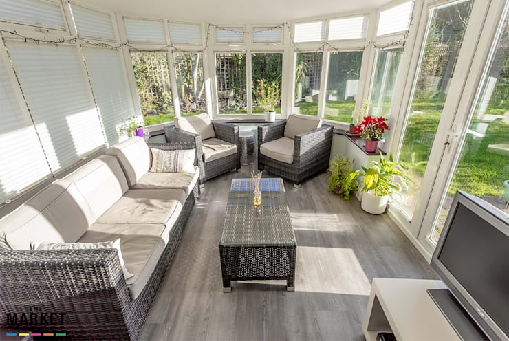 Conservatory by The Market Design & Build
