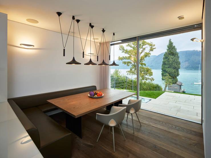 Dining room by Backraum Architektur